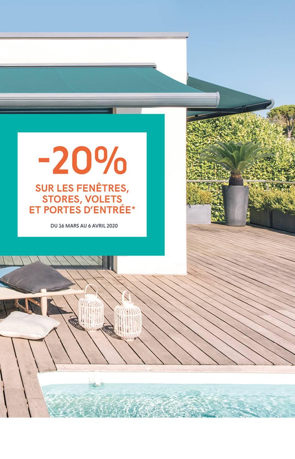 - 20% du 16 mars au 06 avril sur vos produits Storistes de France