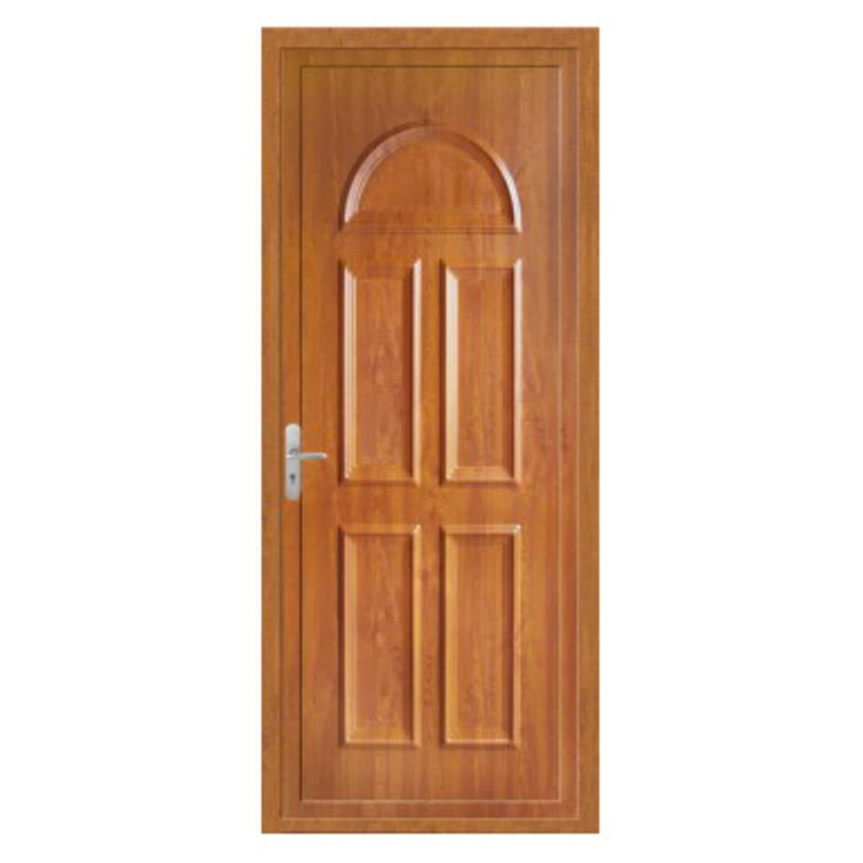 Porte d'entrée en PVC Campanule