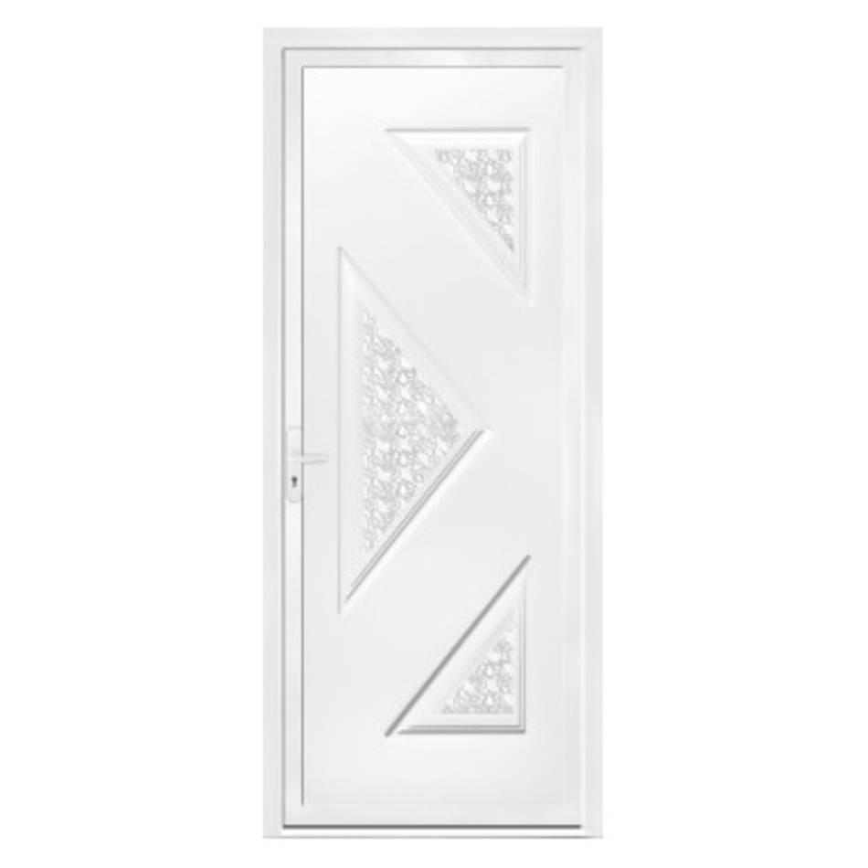 Porte d'entrée en PVC Oreti
