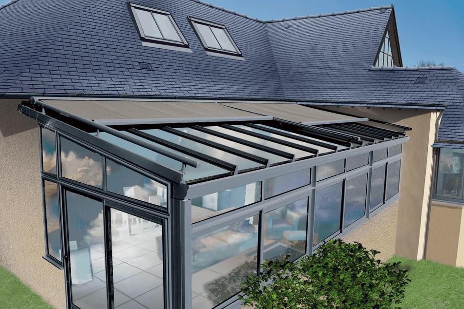 Store de véranda : store extérieur de toit | Storistes de France