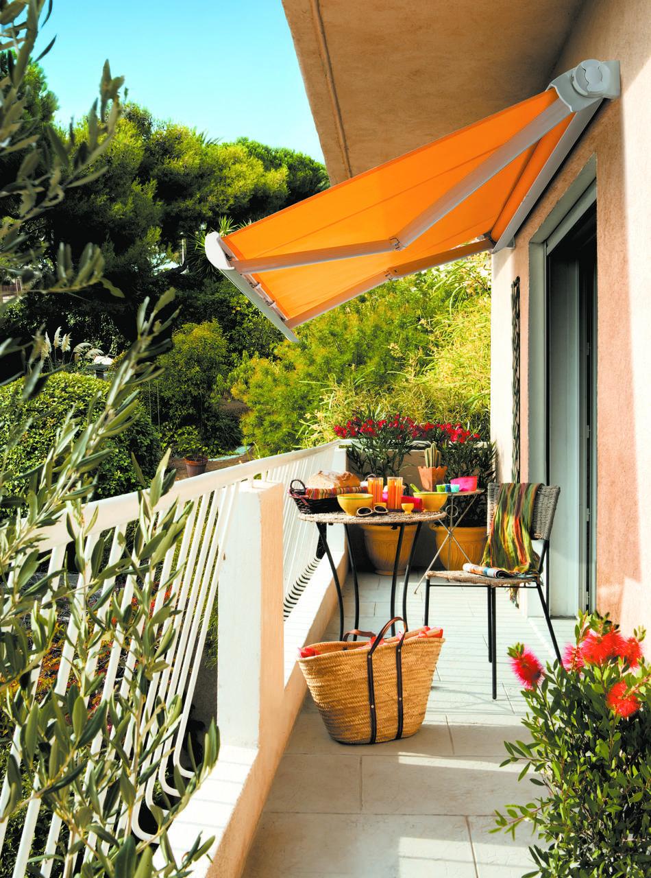Les appartements ont aussi droit à leur terrasse de rêve!