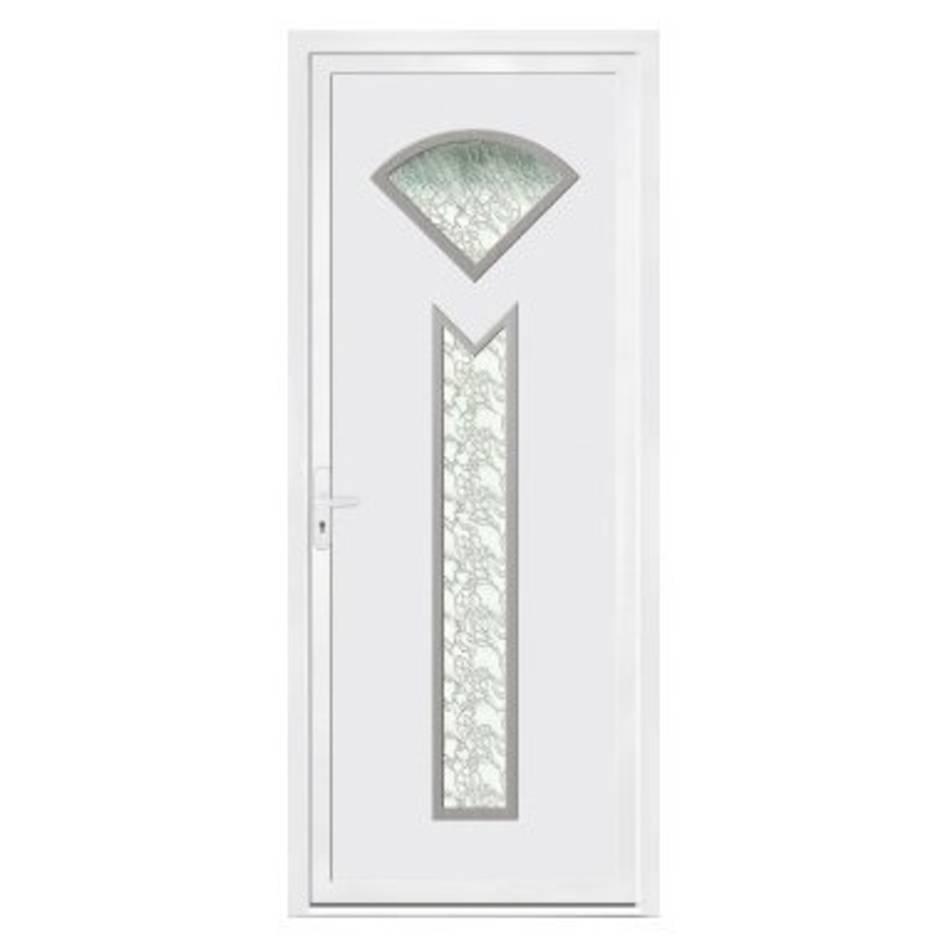Porte d'entrée en PVC Lena