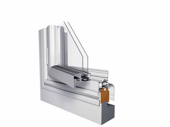 Coupe ouvrant cache aluminium