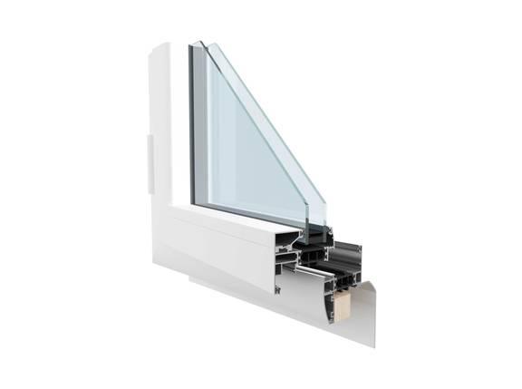 Coupe Fenêtre aluminium Pléiade