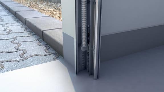 Système de levage pour assurer un fonctionnement souple en toutes circonstances.