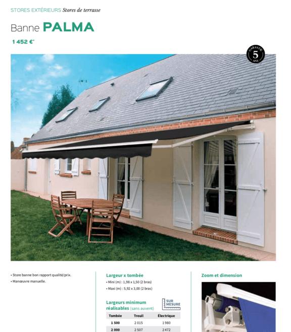 Store banne Palma