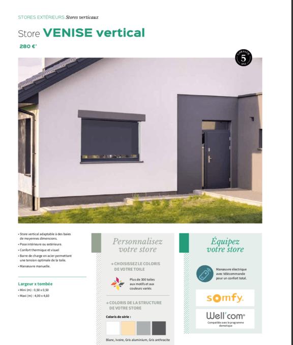 Store Venise vertical