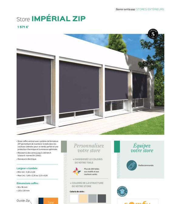 Store Impérial Zip