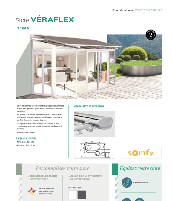 Store Véraflex