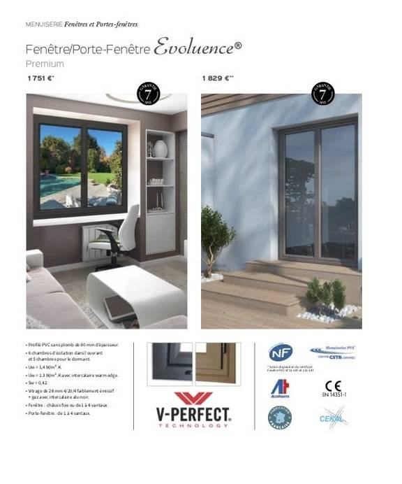 Fenêtre Evoluence Premium